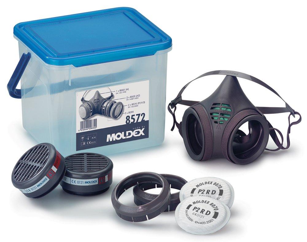 Moldex 8572 Respiratory box Series 8000 A2 P2 R D, Medium