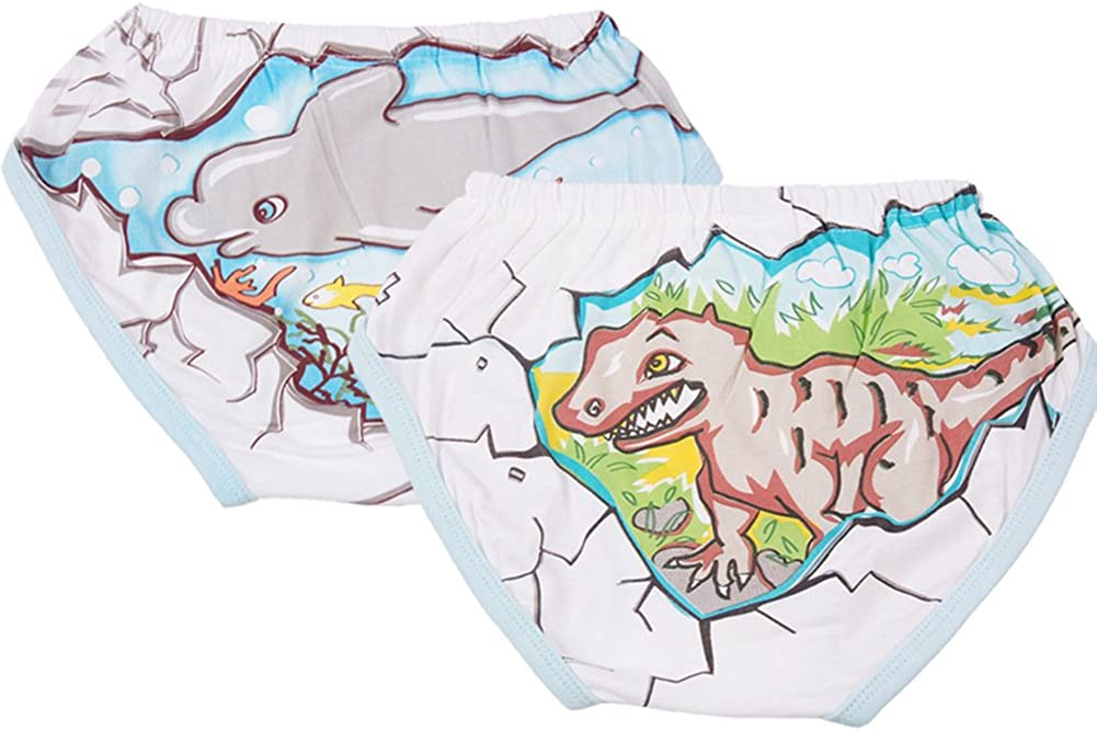 Jojobaby Toddler Baby 100/% Cotton Underwear Briefs Pants Training Pants 2-Pack