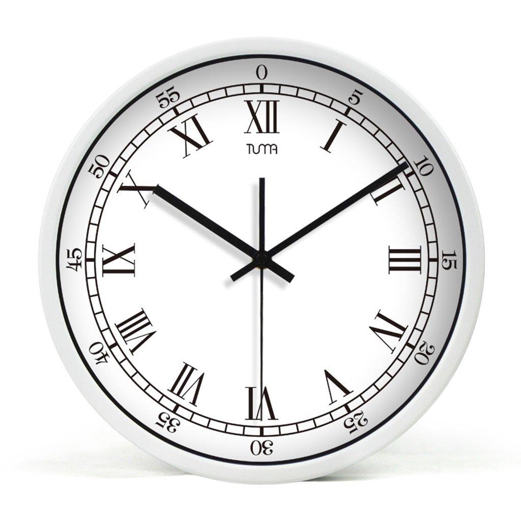 ホーム&時計 10/12/14インチシンプルウォールクロックサイレントエクササイズ|近代的なファッションデザイン|ホームオフィスベッドルームリビングルーム ( 色 : B , サイズ さいず : 35 cm 35 cm ) B07BQWWF4XB 35 cm 35 cm
