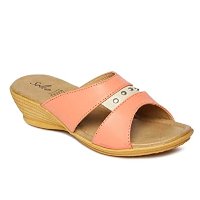 316d037b9e8b PARAGON SOLEA Plus Women s Pink Flip-Flops  Buy Online at Low Prices ...
