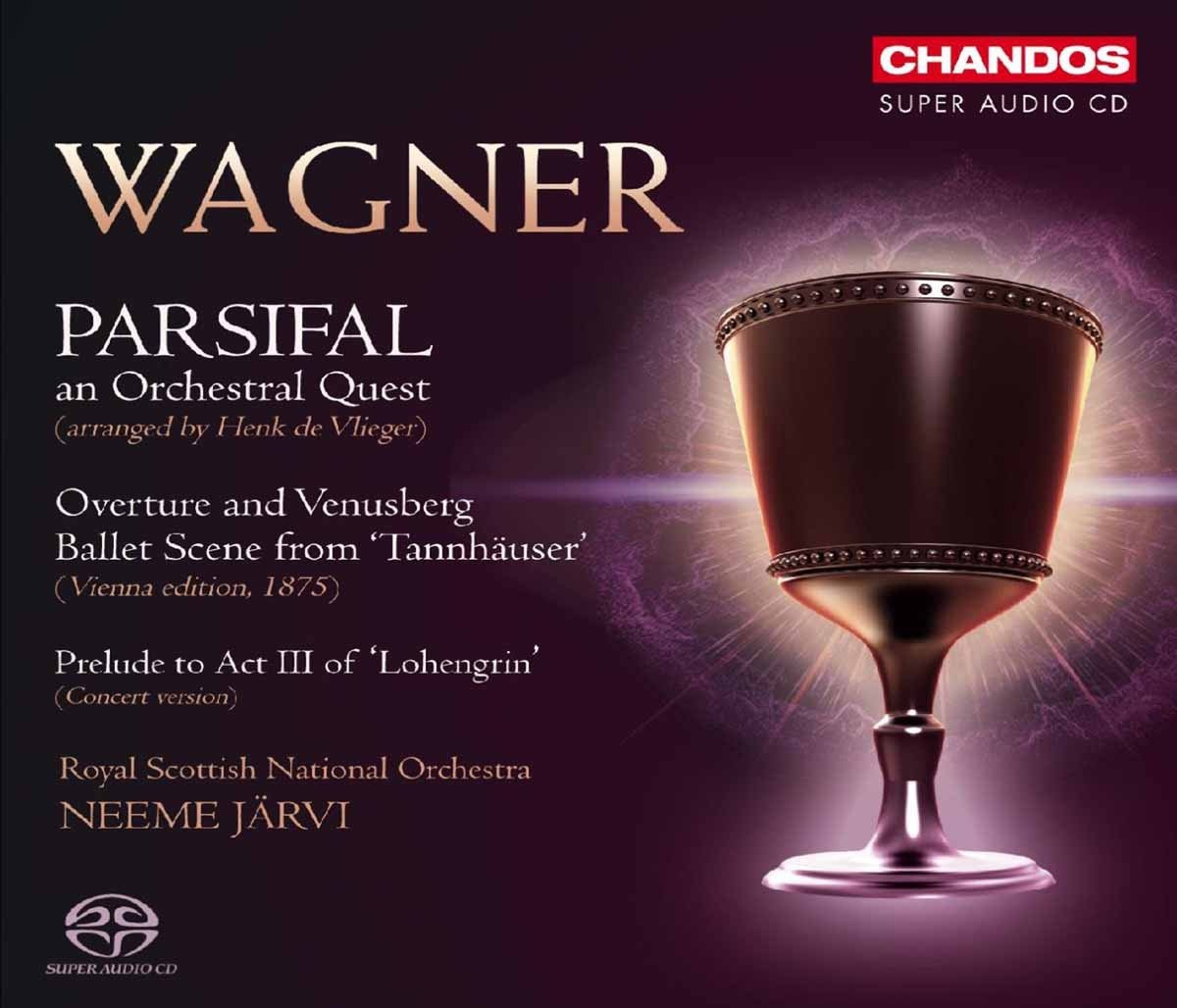 Royal Scottish National Orchestra, Richard Wagner, Neeme Jarvi, William  Chandler - Wagner: Parsifal - An Orchestral Quest - Amazon.com Music