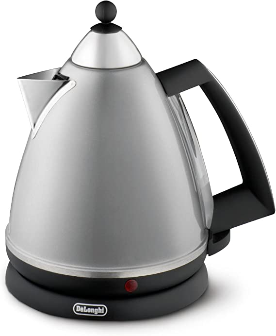 1.7L Argento Matt Black Kettle