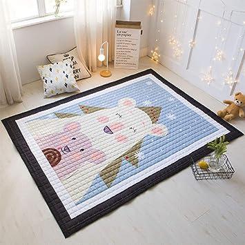 Amazon.de: DUANG Super Groß Baby Kinder Baumwolle Teppiche ...