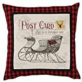 Park Designs Yuletide Sleigh Pillow