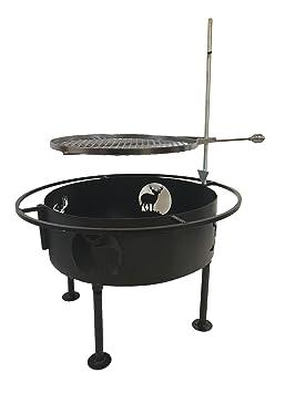Fire Pit parrilla de cocción por impresiones Plus deja al ...