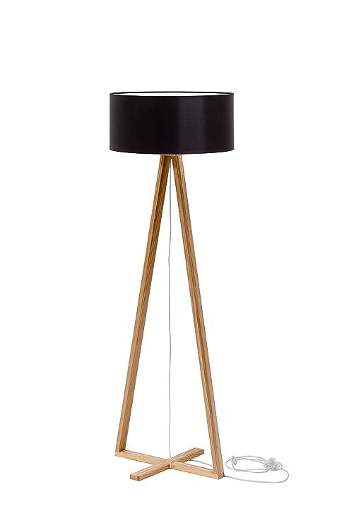 Ragaba Tales - Lámpara de pie de diseño de Madera con ...