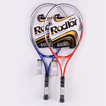 Taiwanrns Blue Two Colors Tennis Raquete and 1 Piece Tennis Balls Roder Raquetas De Tenis Blue