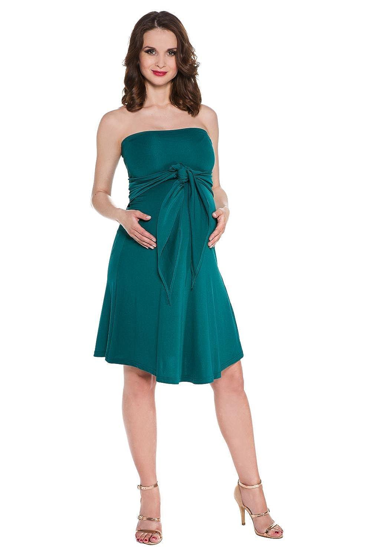 My Tummy Umstandskleid Marylin smaragd grün verschiedenen Farben