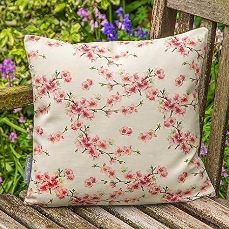 Diseñador Impermeable Jardín Exterior Cojín - Cherry Blossom ...