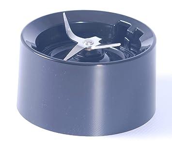 Base de jarra para batidora KitchenAid de nuevo estilo, con cuchillas color negro Onyx (para los nuevos modelos KSB555): Amazon.es: Hogar