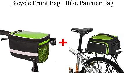 Bike Bicycle Road  Cycling MTB Frame Tube Front Bags Basket Pouch Handlebar Bag