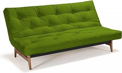 Futon sofá aslak – Sofá-Cama 140 x 200 cm con Futon & somier ...