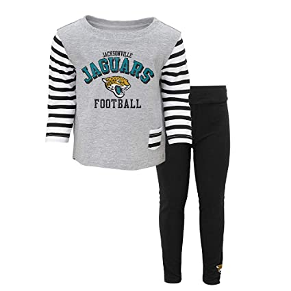 Amazon.com   Outerstuff Jacksonville Jaguars NFL Little Big Girl T ... 5e535eada