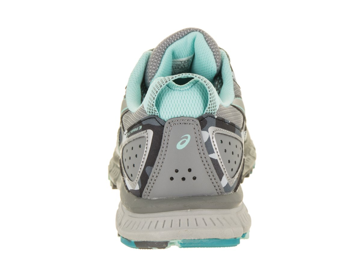 ASICS Women's Gel-Scram 3 Trail Runner B0714G6K34 8 Silver-aruba B(M) US|Stone Grey / Silver-aruba 8 Blue 150ab8