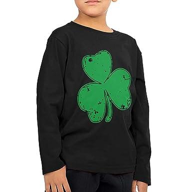 8c3f2612ca9c Amazon.com  CERTONGCXTS Children s Irish Shamrock ComfortSoft Long ...