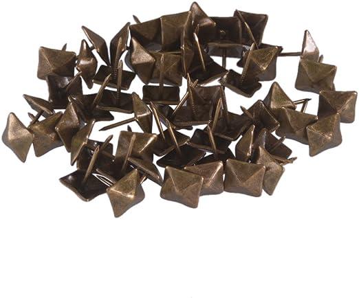 100 X Clavos Tapicería Antiguo//Clavos Tapicería Suministros