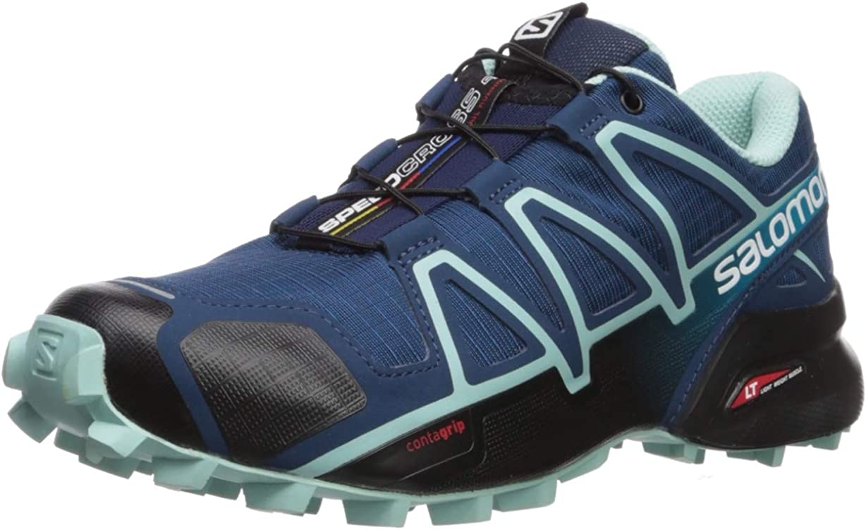Salomon Women s Speedcross 4 Wide W Trail Running Shoe