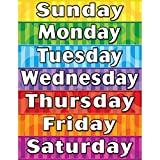 Teacher Created Resources Days of the Week Chart, Multi Color (7608) thumbnail