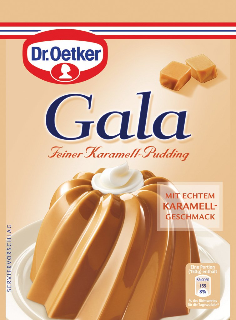 Amazon Dr Oetker Gala Feiner Karamell Pudding 3 Pcs Cooking