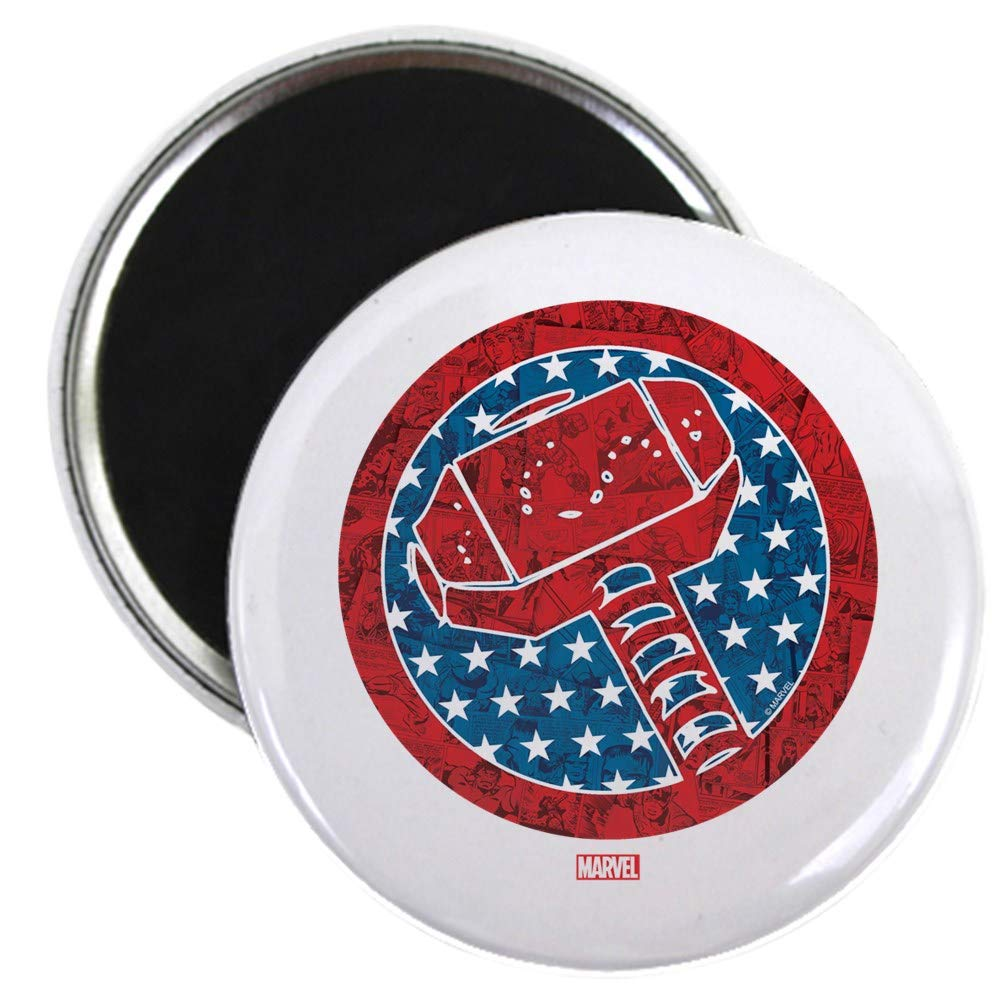 "CafePress Thorth Of July 2.25"" Round Magnet, Refrigerator Magnet, Button Magnet Style"