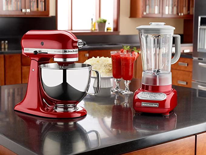 KitchenAid Artisan, Vidrio, Acero inoxidable, Naranja, 220 ...