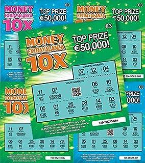 6 X World's Most Realistic - Fake Joke Winning Lottery