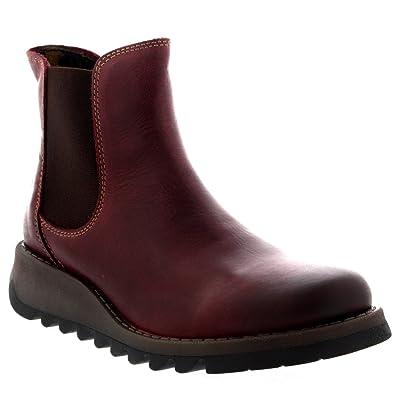 2a0ffef7860c02 Fly London Damen Salv Rug Stiefel  Amazon.de  Schuhe   Handtaschen