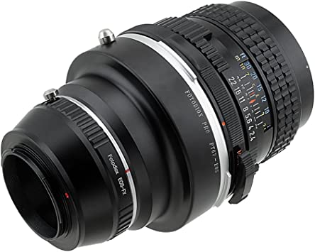 X-E2 Mount Lenses to Fujifilm X-Series Mirrorless Camera Adapter X-E1 X-T1 Fotodiox Pro Lens Mount Adapters X-A1 Pentax 6x7 X-M1 P67 fits X-Mount Camera Bodies Such as X-Pro1