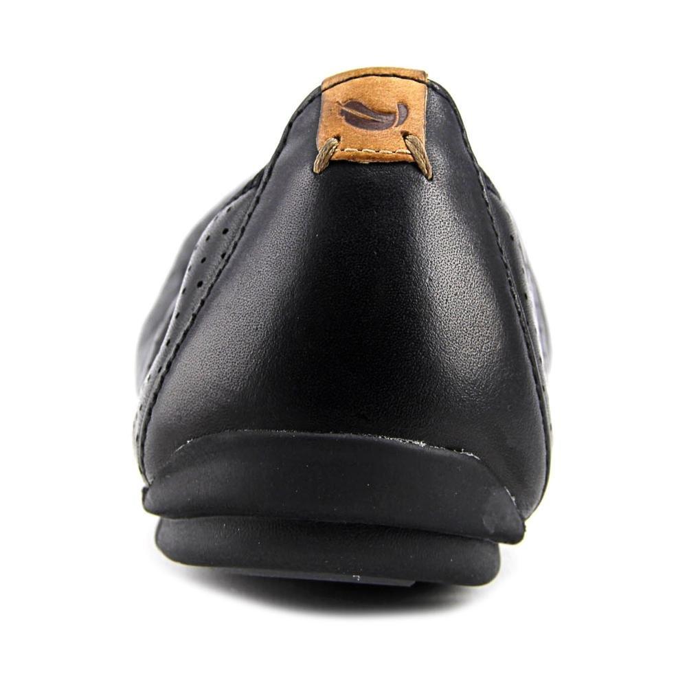 CLARKS Damens's Leder,5.5 Un Tract Ballet Flat,schwarz Leder,5.5 Damens's 25915b