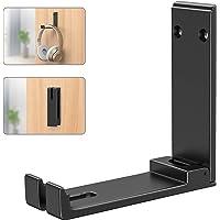 Foldable Headphone Hanger Holder Mount, Link Dream Aluminum Headset Hook Strong 3M Adhesive Headphone Hanger Mount with…