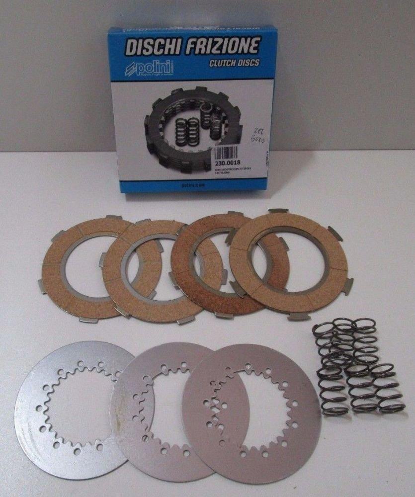 POLINI Serie Discos de Embrague para Piaggio Vespa Px 125/150 LML 4 Discos Racing: Amazon.es: Coche y moto