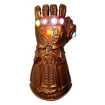 ZhaoXin Boys Men Toy Thanos Infinity Gauntlet PVC Gloves Cosplay Props