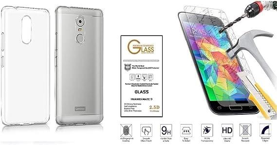 para Lenovo K6 Note/len K6 Note(K53A48) (5,84) Funda Protectora Gel Silicona Soft Slim TPU Suave antigolpes antiarañazos (Transparente): Amazon.es: Electrónica
