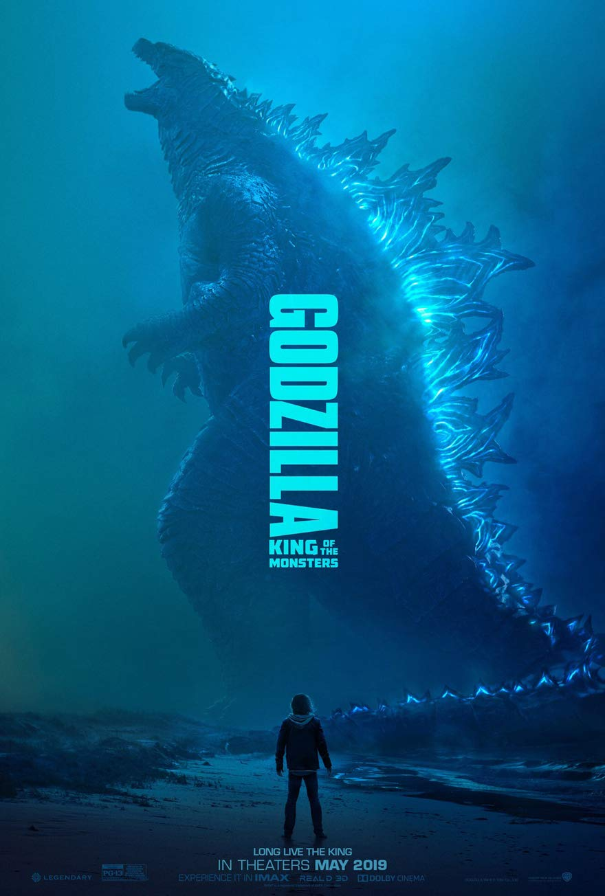 GODZILLA KING OF THE MONSTERS MOVIE POSTER 2 Sided ORIGINAL Advance 27x40