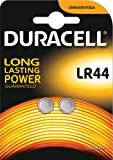Duracell Pack de 2 Piles Spéciales Bouton Alcaline Type LR44