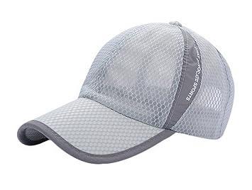 Amazon.com   Men and Women Summer Adjustable Breathable Sun Hat ... 12eb47cb57c