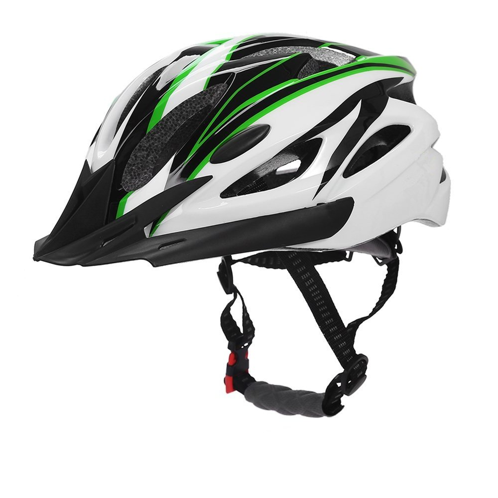 Buy CCTRO Adult Cycling Bike Helmet Eco-Friendly Adjustable Trinity Men  Women Mountain Bicycle Road Bike Helmet Safety Protection Black+Green  Online at Low Prices in India - Amazon.in