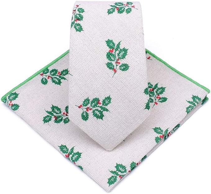 Corbatas para hombre Algodón y lino corbata traje de hombre jardín ...