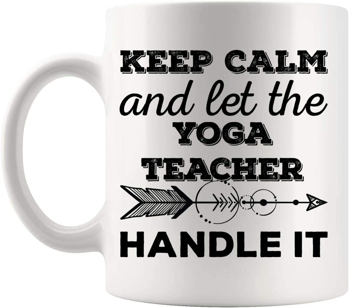 jingqi Mejor Instructor de Yoga Profesor Mujeres Hombres Taza de café Taza Entrenador Entrenador Yogi Tutor educador Tazas de Regalo de cumpleaños
