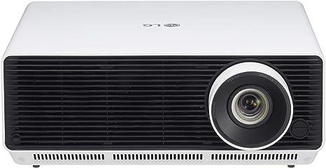 Lg Business Beamer Bu50nst Bis 762 Cm 300 Zoll Probeam Laser 4k Projektor 5000 Lumen Hdr10 1 6x Optischer Zoom Front Schwarz Rückseite Weiß Texturiert Heimkino Tv Video