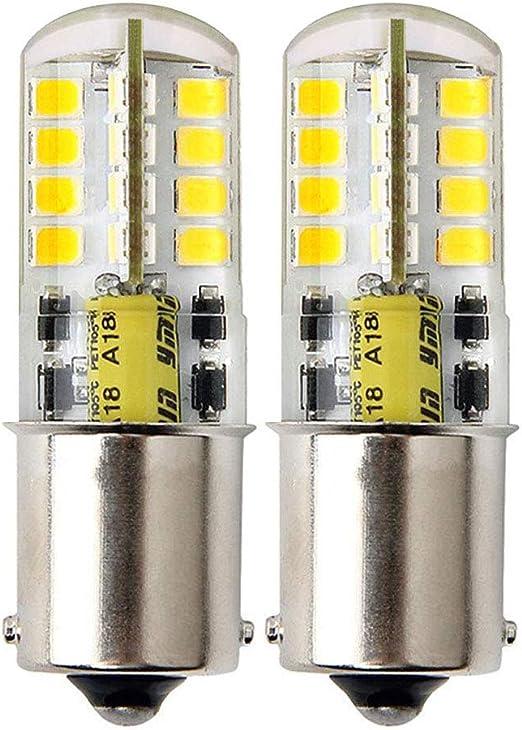 LumenTY Bombilla LED B15 / [2 unidades] Bombilla LED AC / DC 12V ...