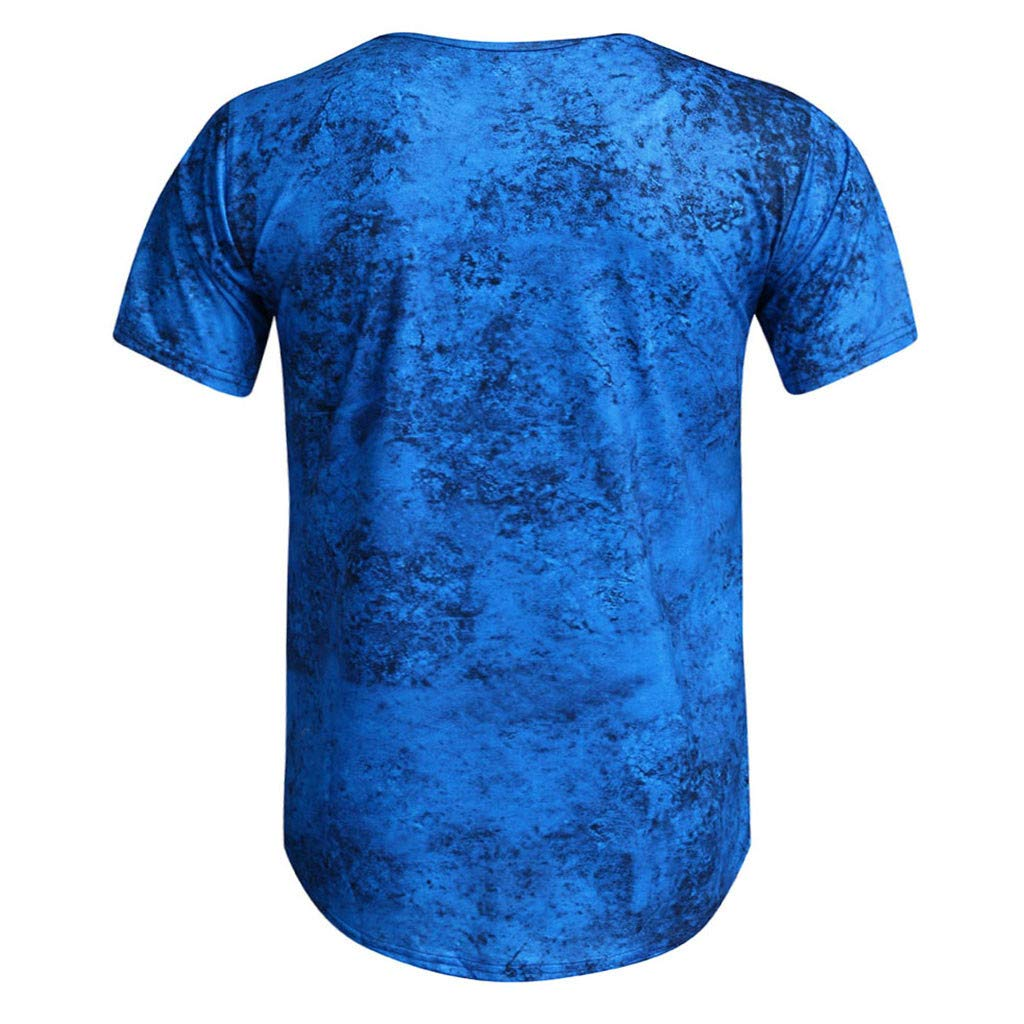 Bumen Herren Kurzarm Basic T-Shirt O-Neck Ausschnitt Oversize-Look Herren Sommer T-Shirt Rundhals-Ausschnitt Slim Fit Baumwolle-Anteil Moderner M/änner T-Shirt Crew Neck Hoodie-Sweatshirt Kurzarm