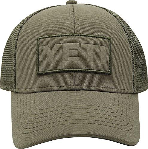YETI Men's Olive on Olive Trucker Hat]()