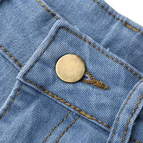 Pantalon Court Bleu Couleur Clair Blanc GlissiRe Femme Pantalon Femme Et DGrad Blanc LaChe Fermeture Pour DGrad SOMESUN Bleu Bleu Jeans Jeans Crayon Jeans Pantalon Crayon Pantalon Jeans t0Y1nw