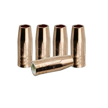 Radnor 6 X 6 Gold Coated Fiberglass//Neoprene Medium Duty Welding Blanket with Grommets On 18 Center On All Sides 5 Pack