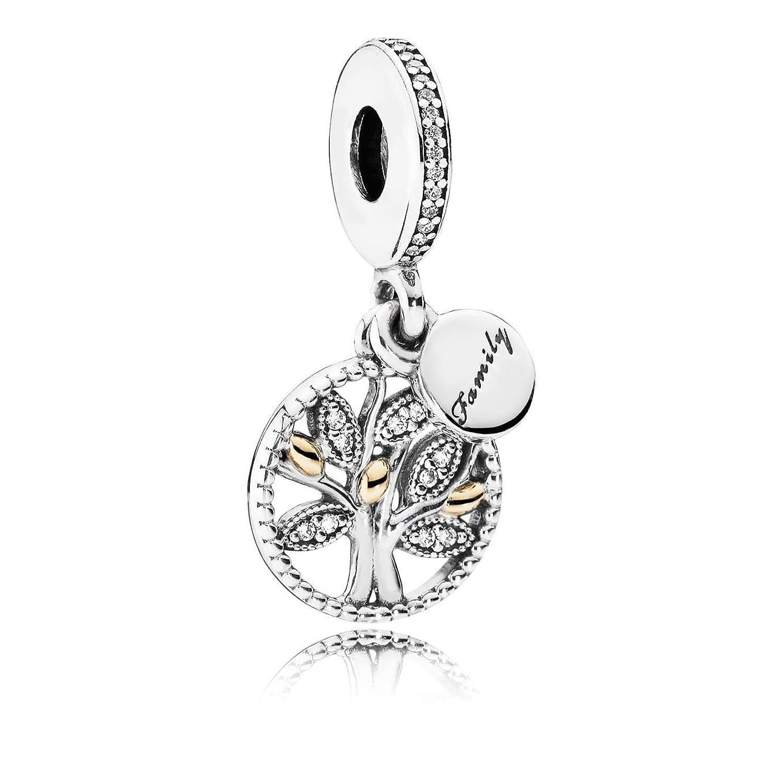 Amazon pandora womens bead pendant silver and gold 791728cz amazon pandora womens bead pendant silver and gold 791728cz female family tree zircons silver jewelry aloadofball Choice Image