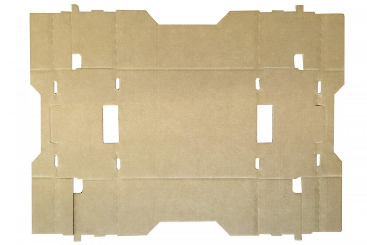 Pack de 5 Cajas de Cartón para Agricultura de Canal Doble y Color Marrón. Almacenaje y Embalaje. Tamaño 40 x 30 x 20 cm. Fabricadas en España. ...