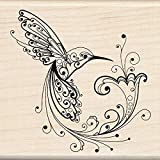 #7: Inkadinkado Hummingbird Wood Stamp