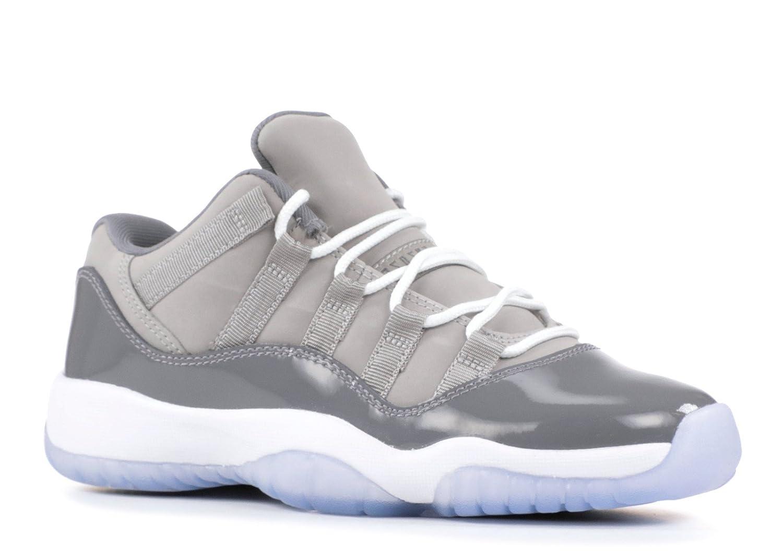 NIKE AIR Jordan 11 Retro Low BG (GS) 'Cool Grey' - 528896-003 B07C23F4L8 6 M US Big Kid