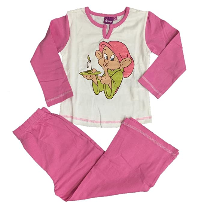 Pijama largo niña cachorro siete enanitos, pijama Disney * 06846 * 12 años